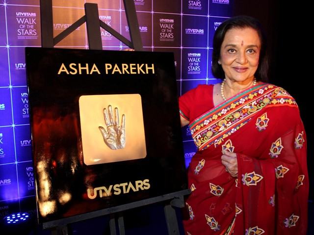 UTV Stars 'immortalizes' Asha Parek in 'Walk of the Stars'