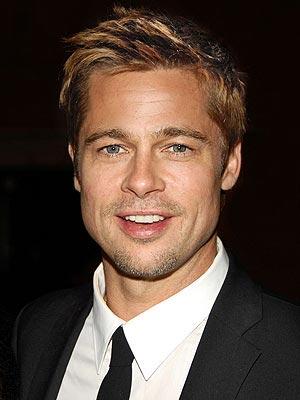 Brad Pitt returns to