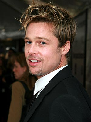 brad pitt. Brad Pitt voted most admired