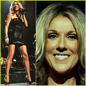 Celine Dion honours Lennon by singing his 'Imagine'