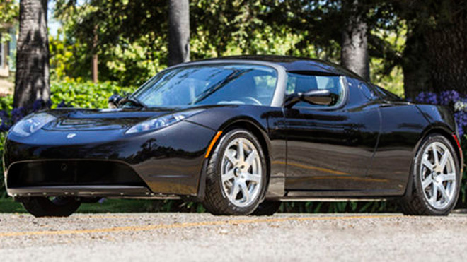 George Clooney auctions off $100k Tesla Roadster for charity