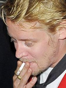 Culkin's smoking habit on rise