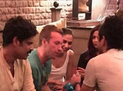 Deepika chills with Chris Martin at GCFI after party