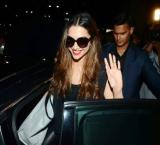 Deepika is back in Mumbai