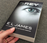 EL James releases 'Grey' to mark her fictional hero's b'day