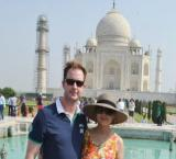 `Newly- wed` Preity Zinta spotted with hubby, in-laws at Taj Mahal