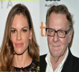 Hilary Swank and Tom Wilkinson