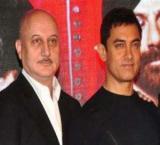 Aamir Khan and Anupam Kher