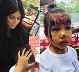 North West turns Minnie Mouse during outing