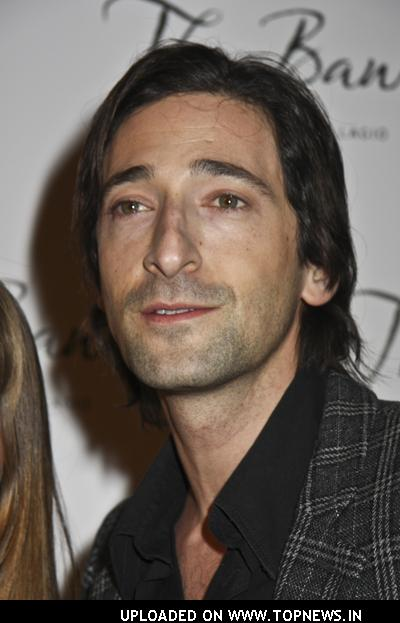 Adrien Brody at The Bank Nightclub in Las Vegas
