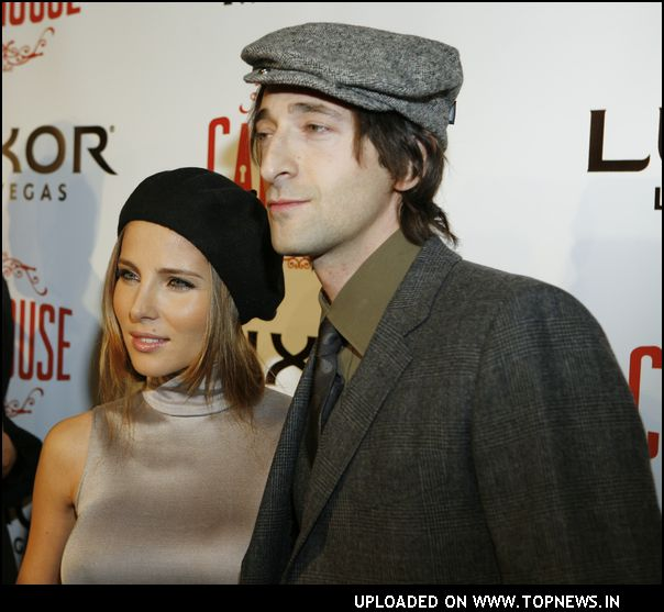 Adrien Brody at CatHouse Grand Opening
