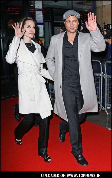 "Angelina Jolie at ""Beowolf"" London Premiere"