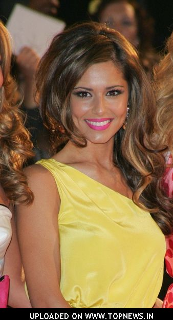 Cheryl Cole at The Brit Awards 2008