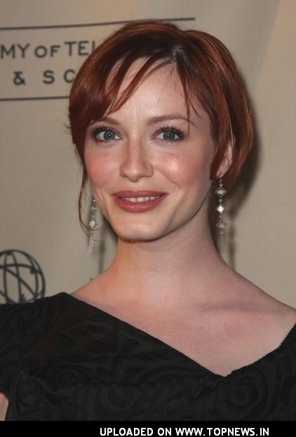 Christina Hendricks at the Academy of Television Arts &amp; Sciences