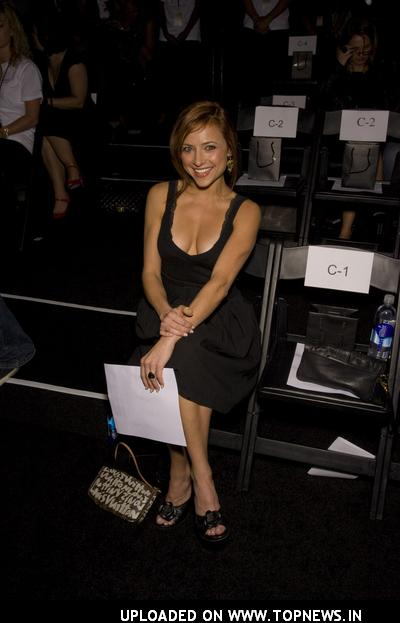 Christine Lakin at Mercedes-Benz Fall 2008 Fashion Week