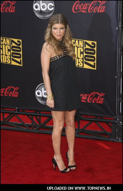 Fergie at 2007 American Music Awards