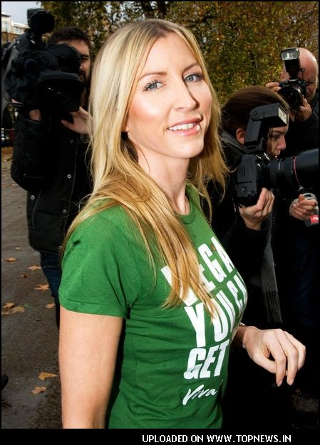 Heather Mills Launches Viva!'s Environment Campaign in London