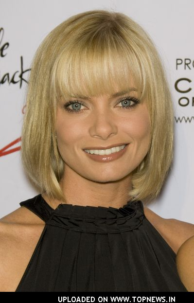 "Jaime Pressly at ""Wear Black and Give Back"" Pre-Oscar Party"