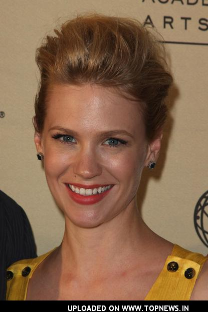 January Jones at the Academy of Television Arts &amp; Sciences