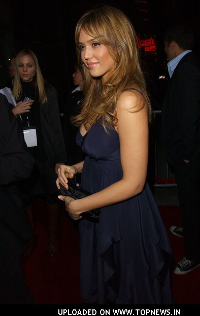 Jessica Alba At &quot;The Eye&quot; Los Angeles Premiere