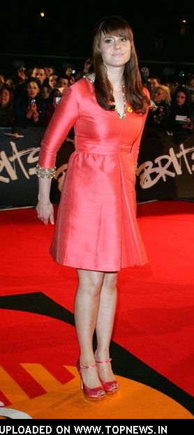Kate Nash at The Brit Awards 2008