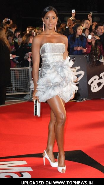 Kelly Rowland at The Brit Awards 2008