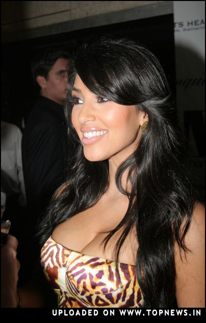 Kim Kardashian Hosts New Year's Eve 2008 Party