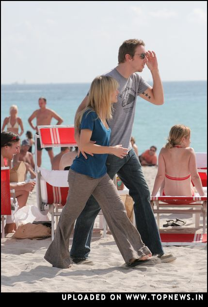 Kristen Bell Sightings on South Beach