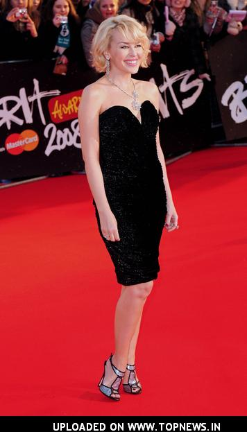 Kylie Minogue at The Brit Awards 2008