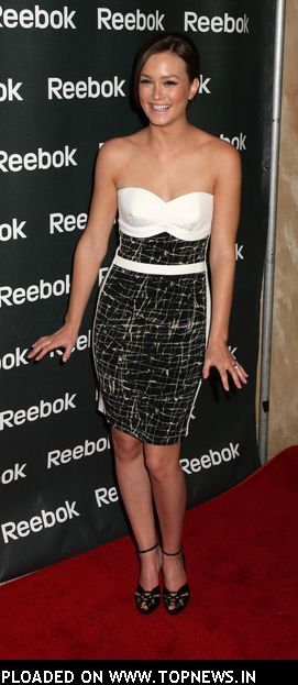 Leighton Meester at Reebok Unveils Ad Campaign and Collection