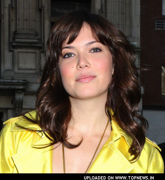 Mandy Moore at Mercedes-Benz Fashion Week Fall 2008
