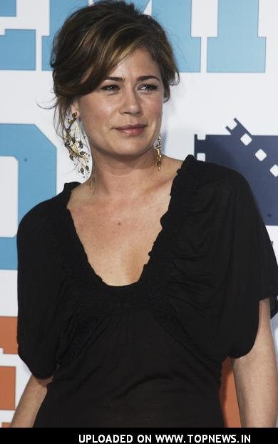 Maura Tierney at Semi-Pro Los Angeles Premiere