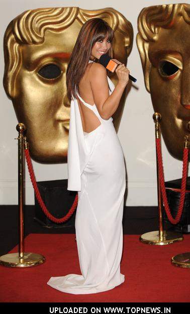 Myleene Klass Hosts Orange's Red Carpet Show at BAFTA