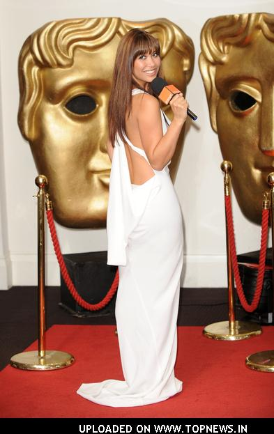 Myleene Klass Hosts Orange&#039;s Red Carpet Show at BAFTA