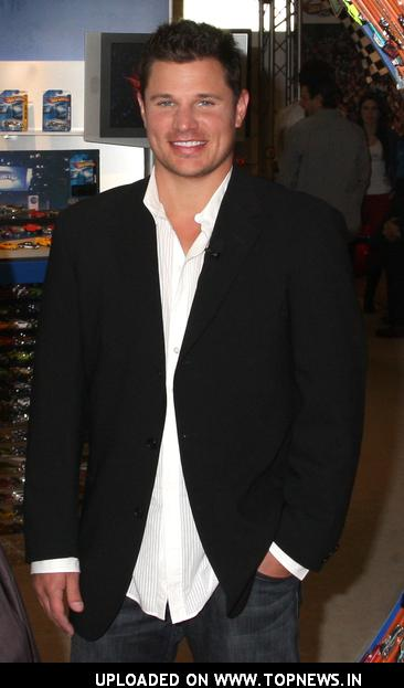 Nick Lachey at Hot Wheels 40th Anniversary Celebration New York