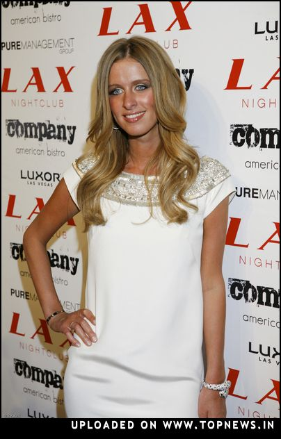 Nicky Hilton at New Year's Eve 2008 Party