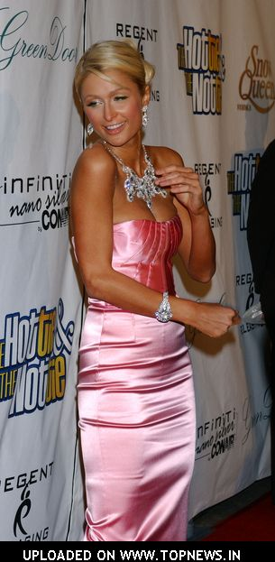 "Paris Hilton at ""The Hottie and The Nottie"" Premiere"