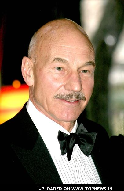 Patrick Stewart at Smashbox Studios