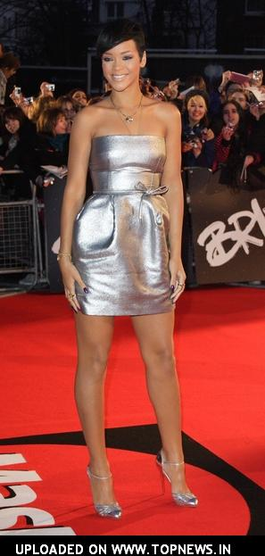 Rihanna at The Brit Awards 2008