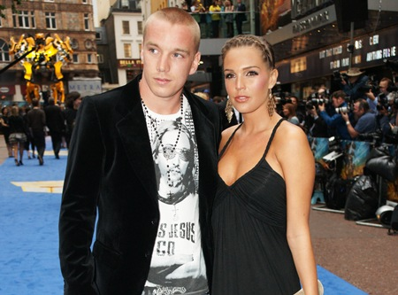 Danielle Lloyd with cool, enigmatic, mysterious, Husband Jamie O