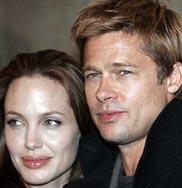 Angelina Jolie and hubby Brad Pitt