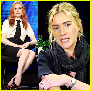  Kate Winslet coached me through my first nude scene: Evan Rachel Wood