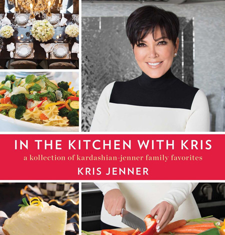 Kris Jenner's cookbook set to hit shelves in October