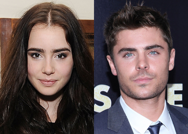 Zac Efron dating Lily Collins?