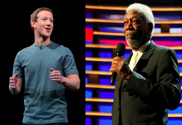 Morgan Freeman voices AI assistant in Mark Zuckerberg's film