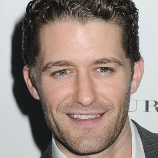 Matthew Morrison loves relaxing nude at home