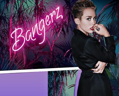 Miley Cyrus' 'Bangerz' album crosses 1 M mark