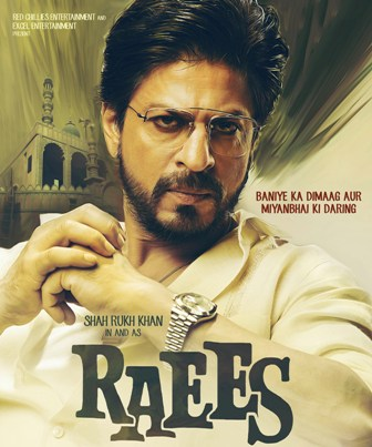 SRK `flies high` during `Raees` shoot