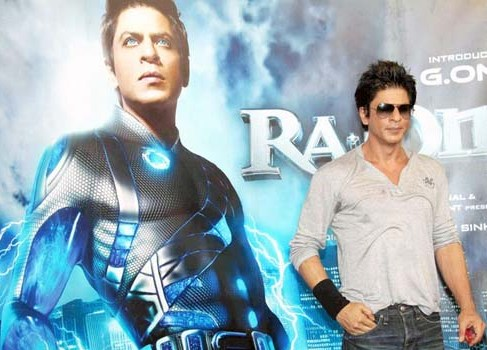 Shah Rukh happy with 'RA.One' reviews