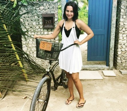 Morning cycling turns Sonakshi `wiser`